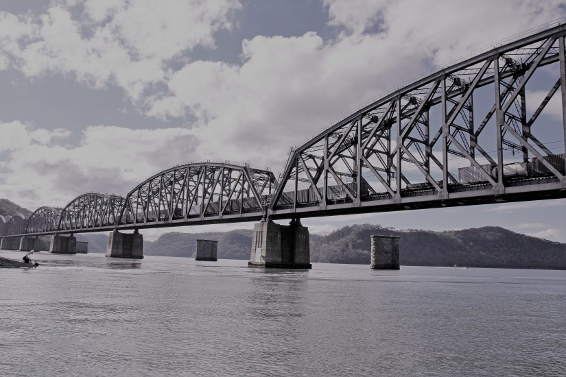 Hawkesbury River Bridge slate